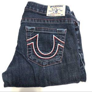 True Religion Capri Jeans Size 29 EUC